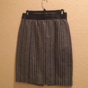 Alexander Wang Leather Pencil Skirt